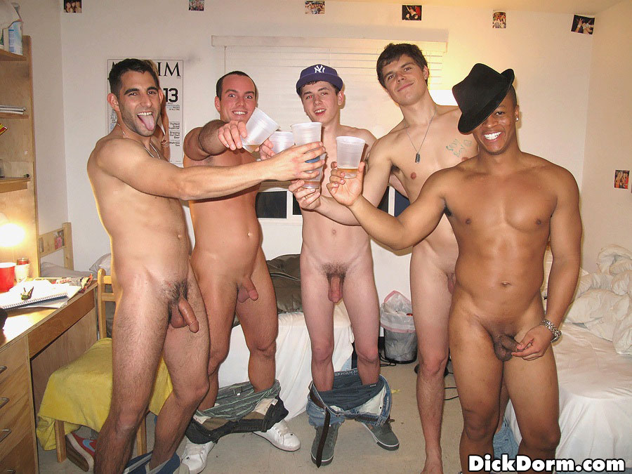 Nude college guys